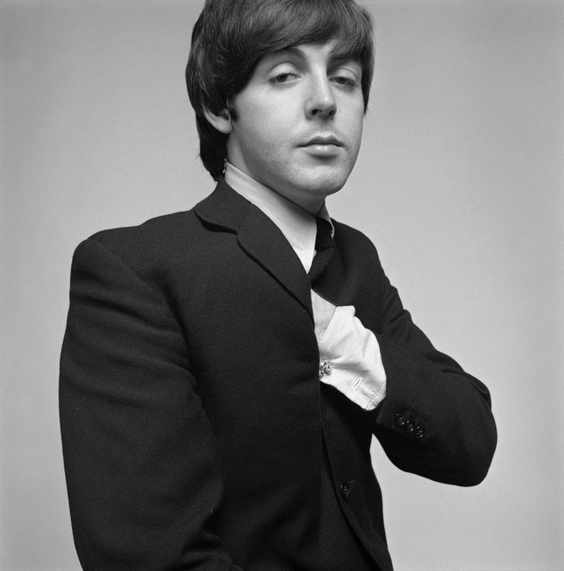 Paul McCartney Studio Portrait, 1965