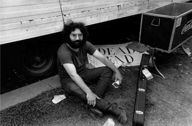 Jerry Garcia, Dead End, Live Dead - The Grateful Dead Gatefold Image, 1969