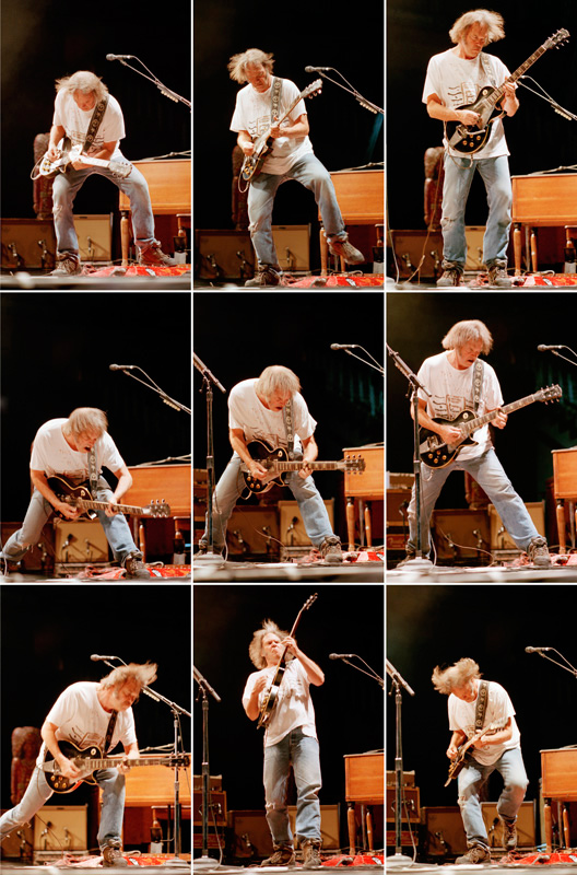 Neil Young Onstage, Nine Frames, c. 2003