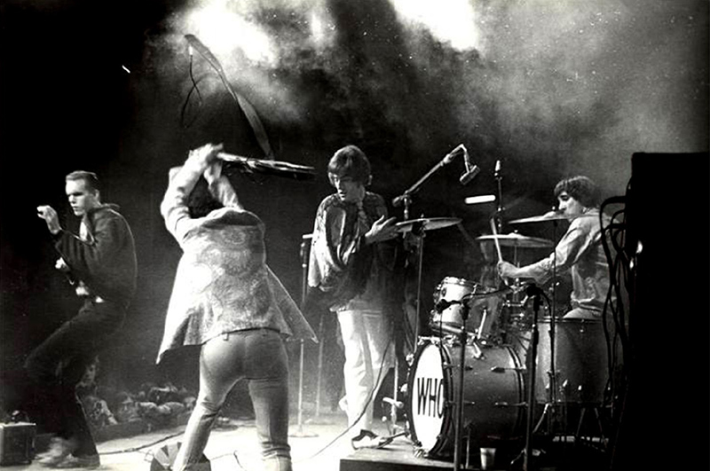 The Who Performing at Monterey Pop, 1967