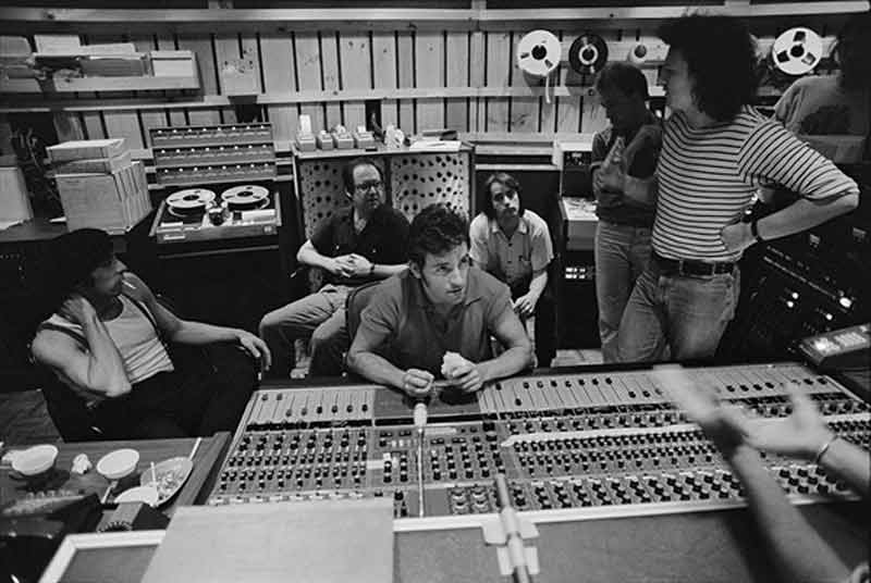 Bruce Springsteen in Studio, NYC, 1979