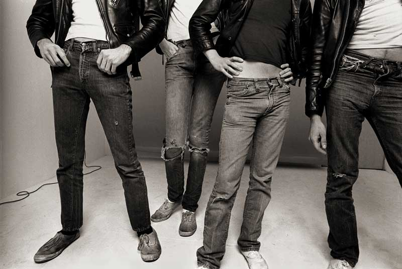 "The Ramones, Los Angeles 1977 ""Jeans & Keds"""