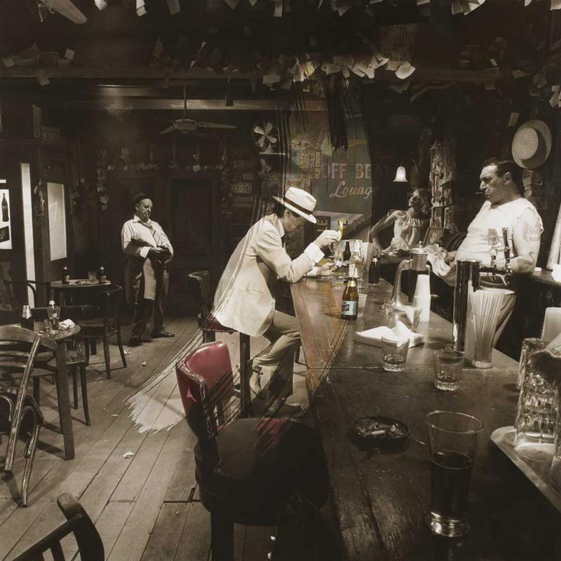 Led Zeppelin, In Through the Out Door Album Cover, 1979