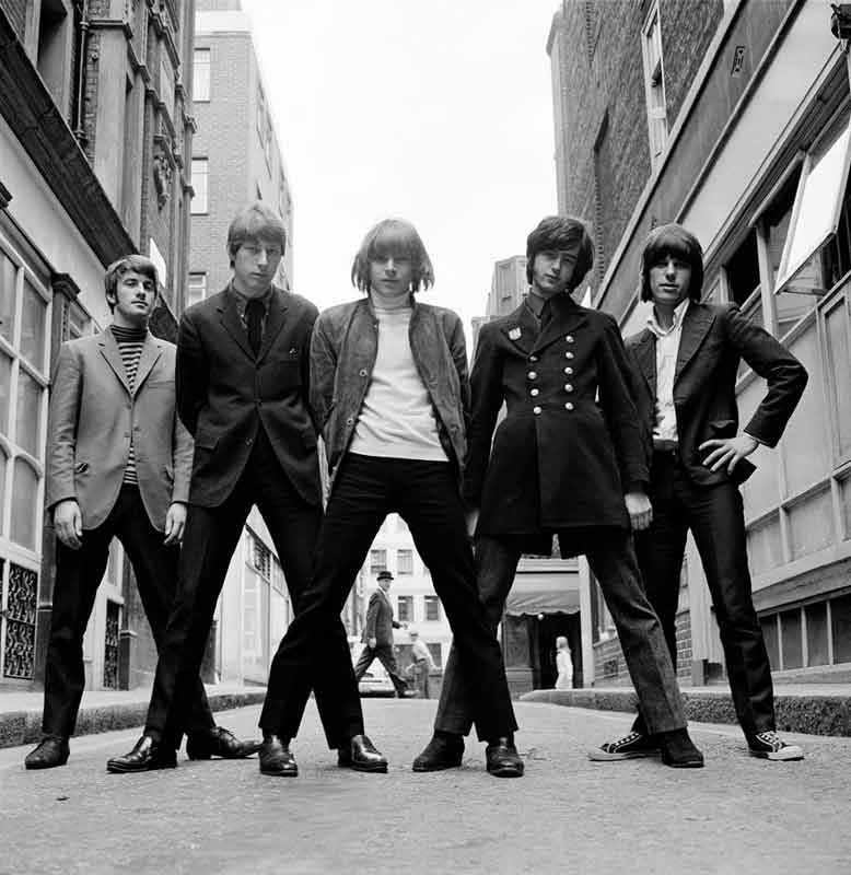 The Yardbirds, Bowler Hat, Mason's Yard, London, 1966