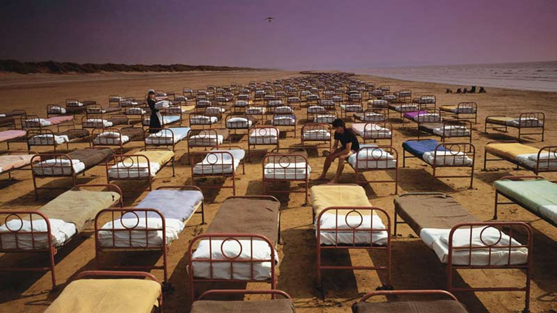 Pink Floyd, A Momentary Lapse of Reason Album Cover, 1987