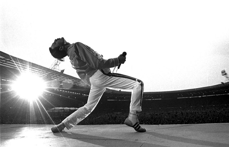 Freddie Mercury, Wembley Stadium, 1986