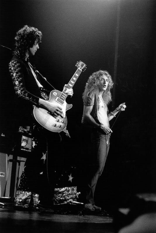 Led Zeppelin Onstage, Madison Square Garden, NY, 1973