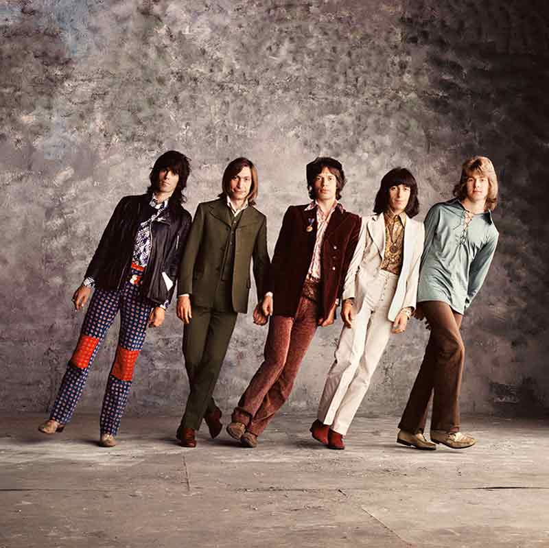 The Rolling Stones, Sticky Fingers - Falling Stones, London, 1971