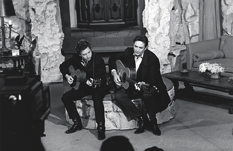 Johnny Cash and Bob Dylan, Performance, 1969