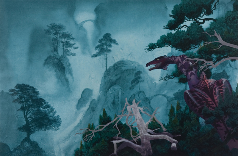 Dragon's Garden I - Dragon in the Mist, 2001