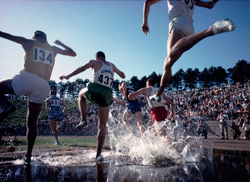 The Olympic Trials - Steeplechase, Los Angeles, 1964