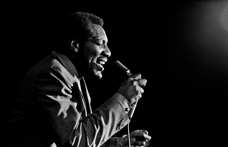 Otis Redding Performing at Monterey Pop Festival, 1967