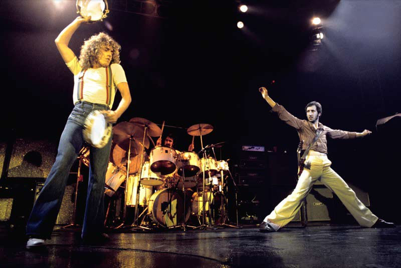 The Who Onstage (Color), San Francisco, 1976