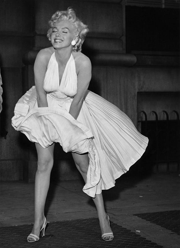 Marilyn Monroe in White II, The Seven Year Itch, 1954