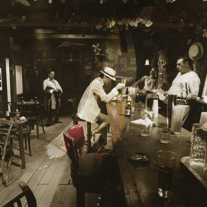 Led Zeppelin, In Through the Out Door Album Cover, 1979 (Original)