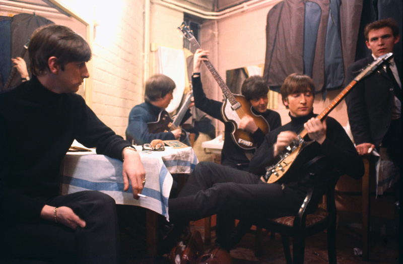 The Beatles Backstage at the Cavern - with Neil