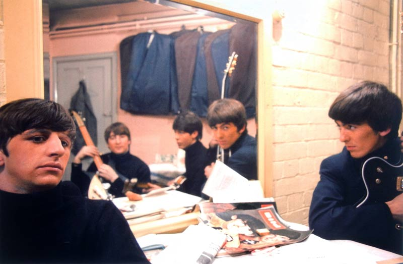 The Beatles Backstage at the Cavern - Reflections, Liverpool, 1963