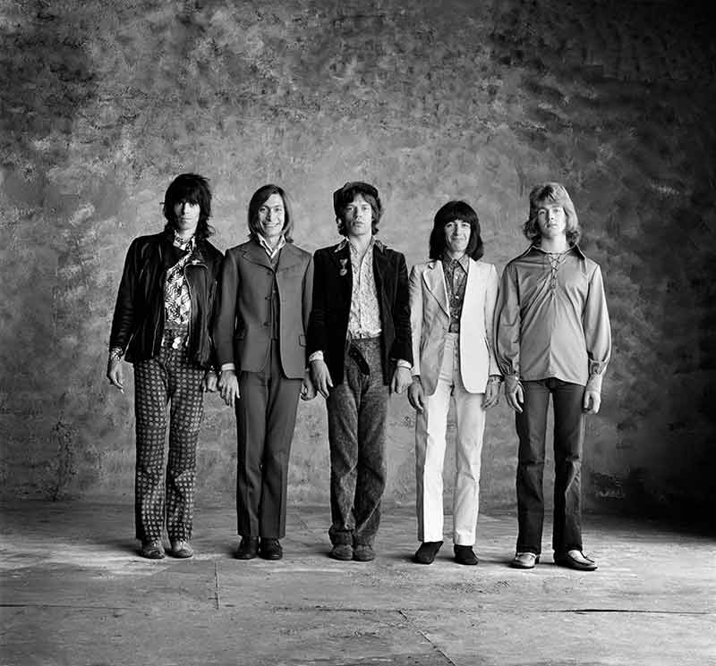 The Rolling Stones, Sticky Fingers - Stone Wall II, London, 1971