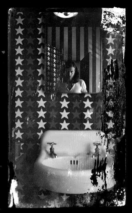 Self Portrait, 1969 (Flag Room)
