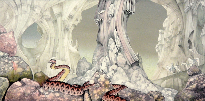 Yes, Relayer Album Cover, 1974
