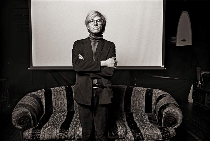 "Andy Warhol, New York 1969, ""Andy Standing"""