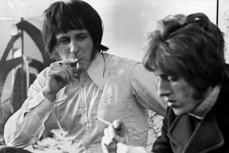 John Entwistle & Roger Daltrey, Hotel Room Interview, NYC, 1968