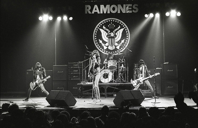 The Ramones Onstage at the Palladium, NYC, 1978
