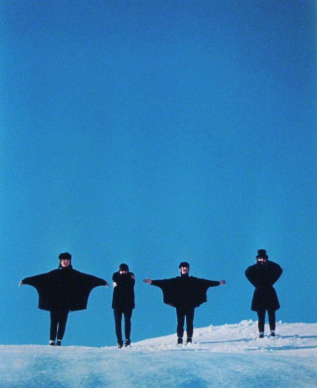 The Beatles Help! Album Cover Outtake, Austria, 1965