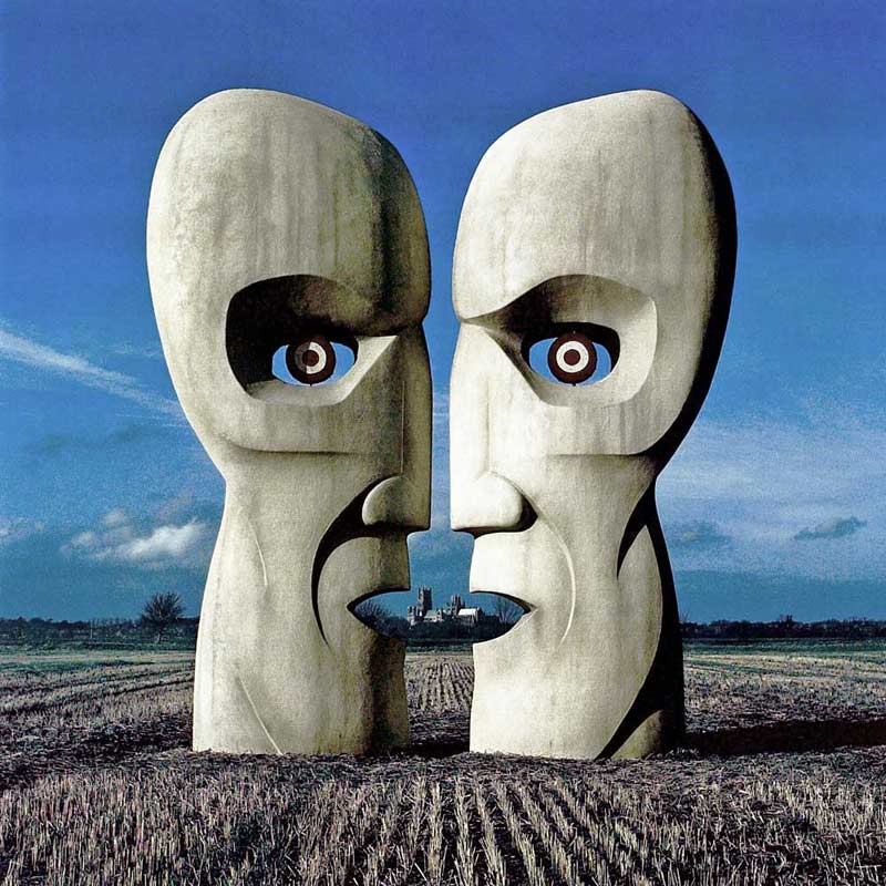 Pink Floyd, The Division Bell - Stone Heads Cassette Cover, 1994