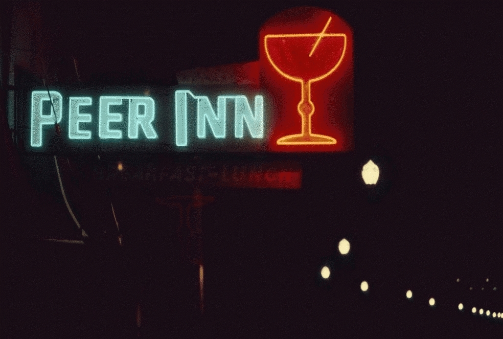 San Francisco Neon Series, Peer Inn Restaurant 1980