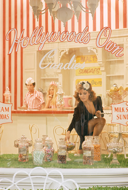 Raquel Welch, Hollywood's Own Candies, On the Set of Myra Breckenridge, 1970