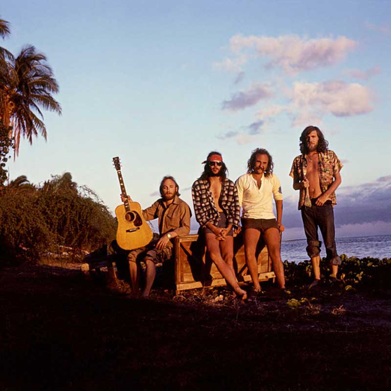 Crosby, Stills, Nash & Young, Hawaii, 1974