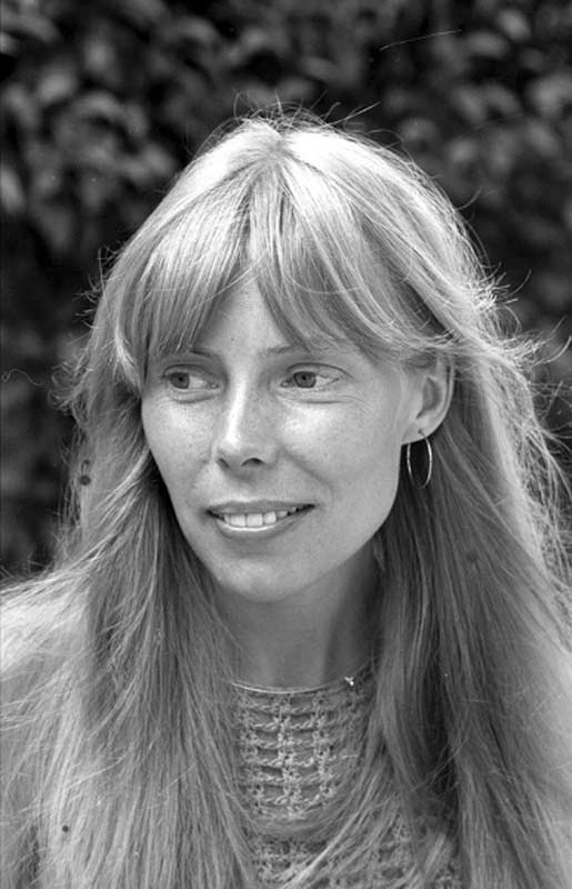 Joni Mitchell Smiling, Beverly Hills, CA, 1972