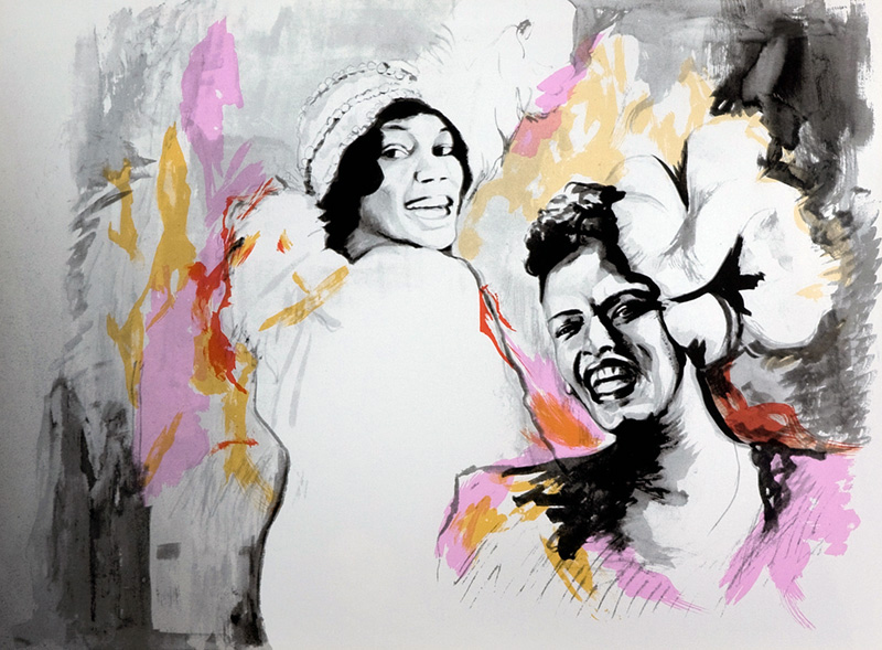 Billie Holiday & Bessie Smith, 1991