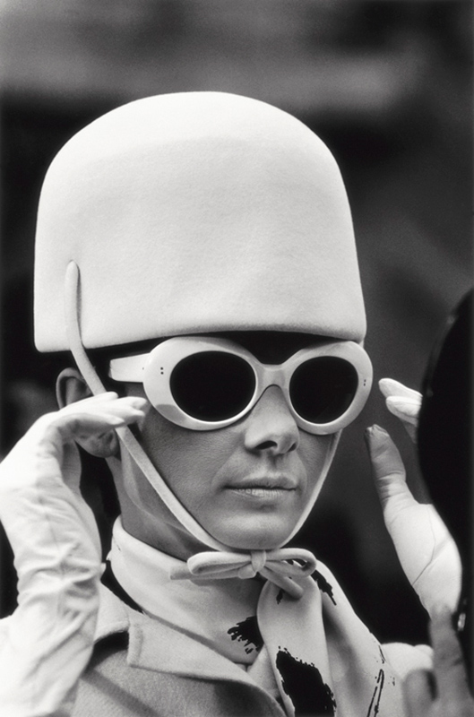 Audrey Hepburn, Glasses and Hat, Paris, 1966
