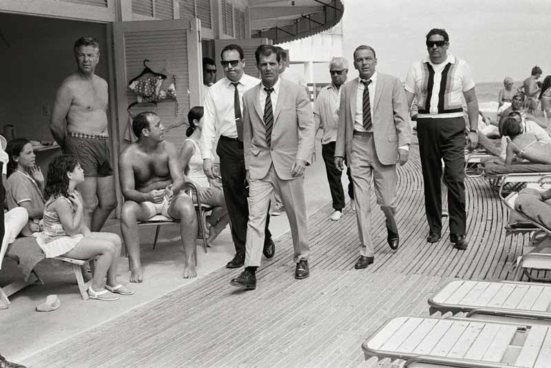 Frank Sinatra on the Boardwalk, Miami Beach 1968