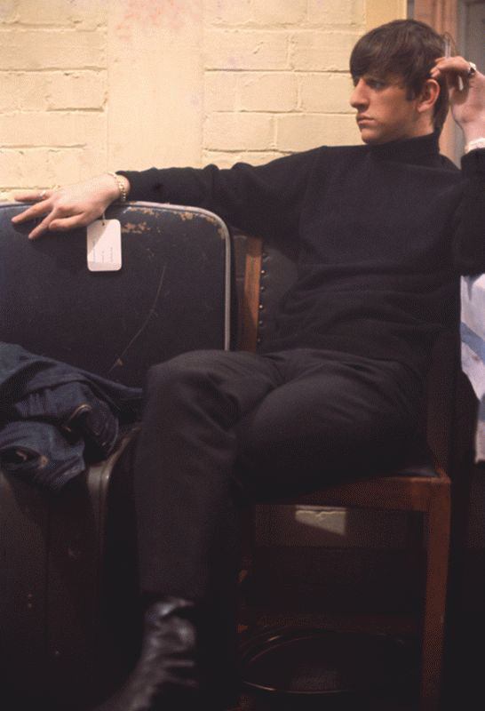 Ringo Starr Full Portrait with Cigarette, Backstage at the Cavern, Liverpool, 1963