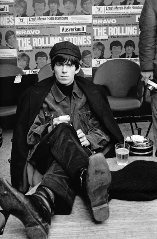 Keith Richards in Chelsea Boots, Munster 1965