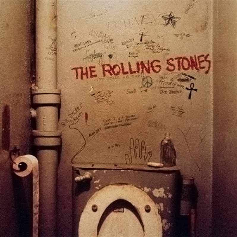 The Rolling Stones, Beggars Banquet Album Cover, 1968