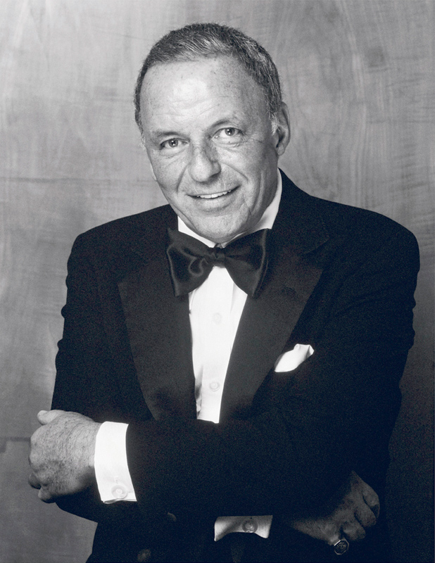 Frank Sinatra Portrait Arms Crossed, London, 1989
