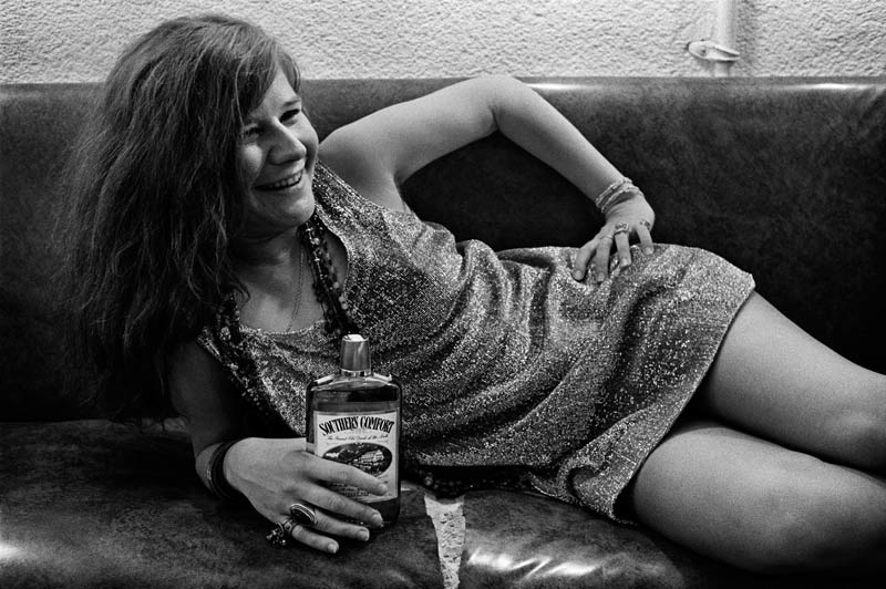 Janis Joplin Happy, Backstage at Winterland SF, 1968