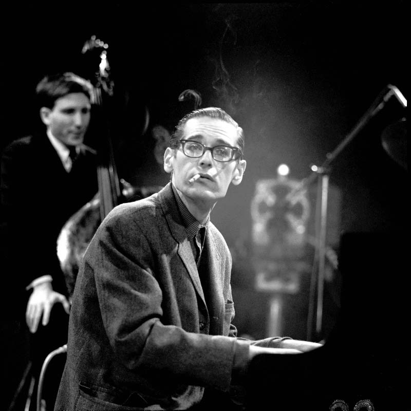 Bill Evans at the Piano, London, 1965