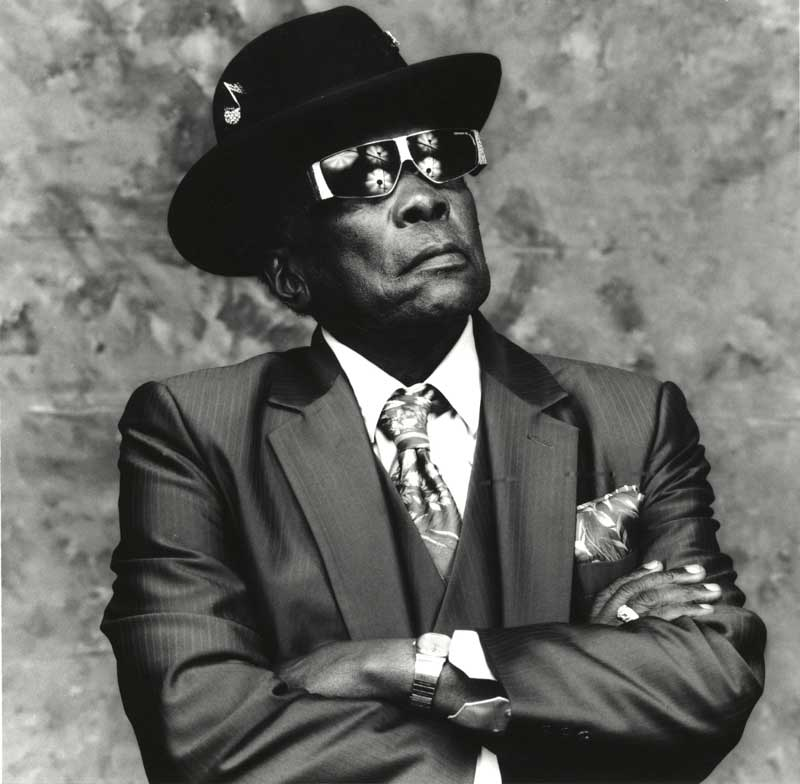 John Lee Hooker, San Francisco 1991