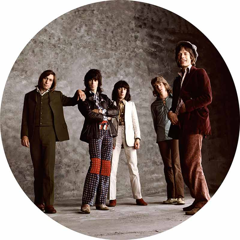 The Rolling Stones, Sticky Fingers - Laughing Stones, London, 1971