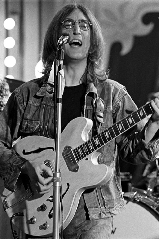"John Lennon, ""Yer Blues"" at The Rolling Stones Rock and Roll Circus, 1968"