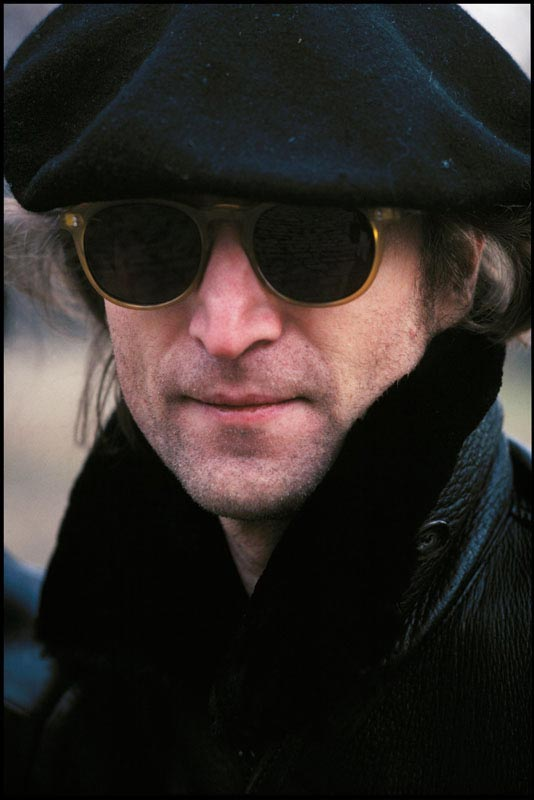 John Lennon, Central Park, NYC, 1980