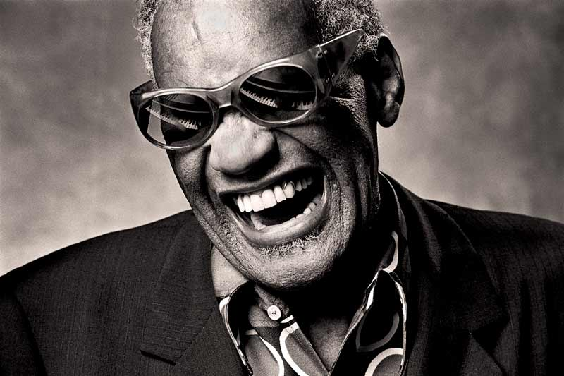 "Ray Charles, Los Angeles 1985 ""Ray Classic"""