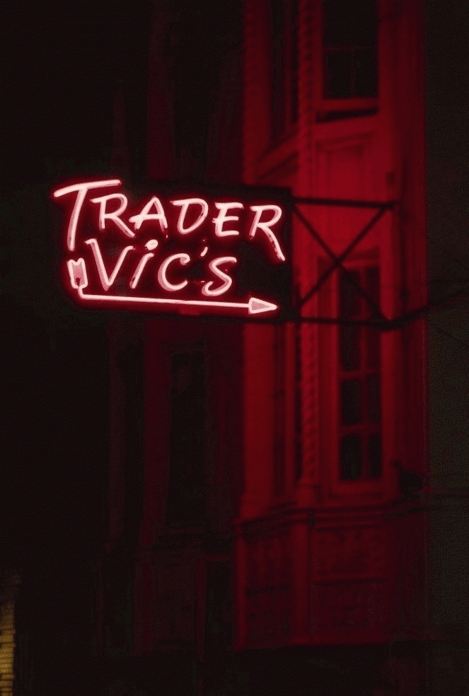 San Francisco Neon Series, Trader Vic's, 1980