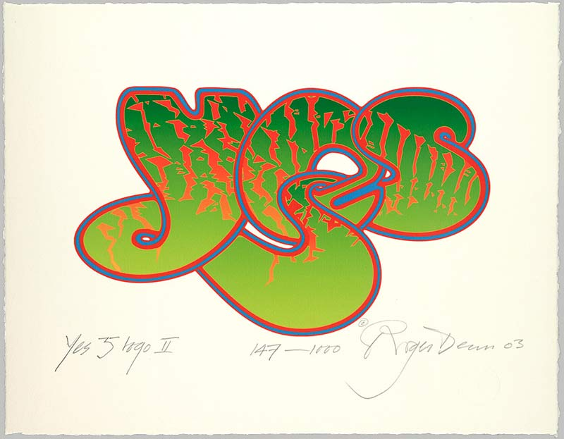 Yes 35th Anniversary Bubble Logo II, 2003