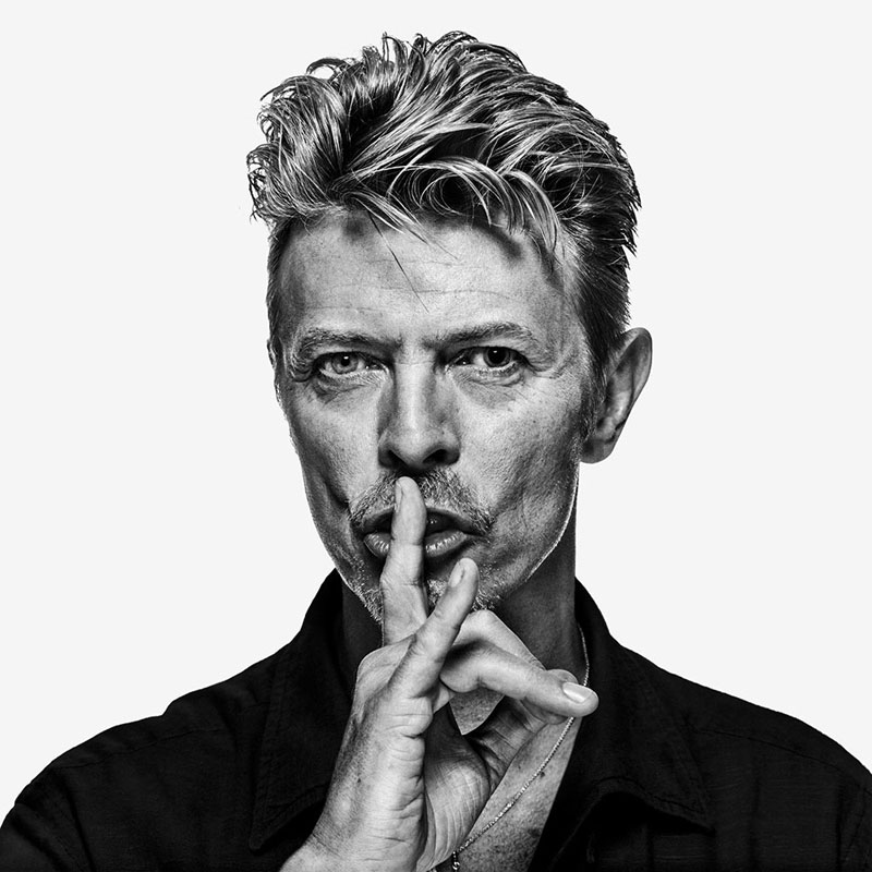 David Bowie - The Session (DB03) 'Shh...', London, 1995